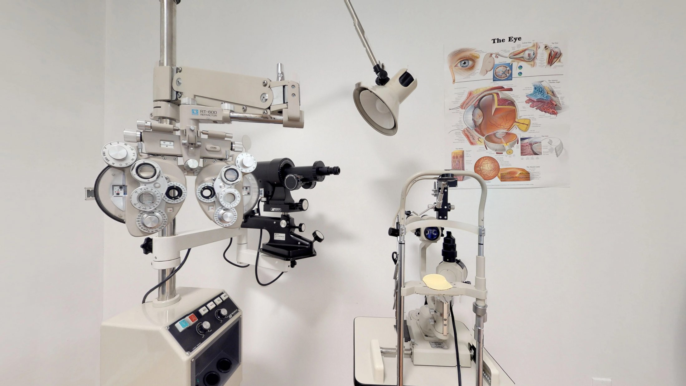 Common-eye-exam-tools
